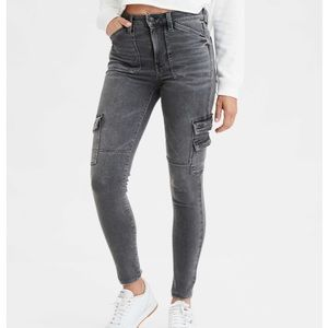 American eagle high wasted jeggings 4